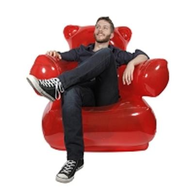 Click to get Inflatable Gummy Bear Chair