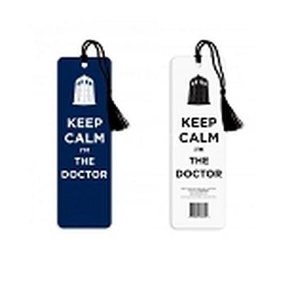 Click to get Doctor Who Keep Calm Bookmark