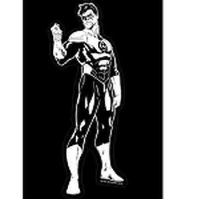 Click to get Justice League Car Decal Green Lantern