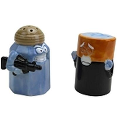 Click to get Assault and Battery Salt and Pepper Shakers