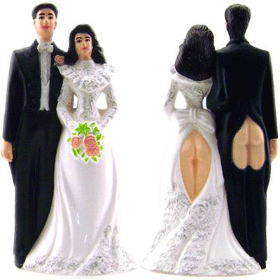 Click to get Sexy Butts Wedding Cake Topper