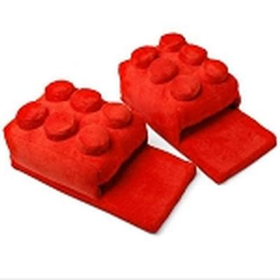 Click to get Lego Block Slippers Red