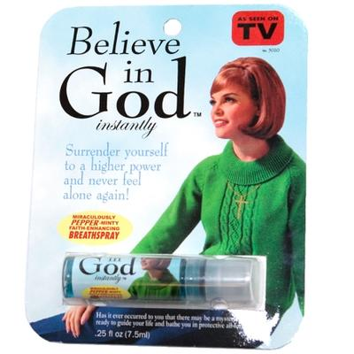 Click to get Believe In God Instantly Spray