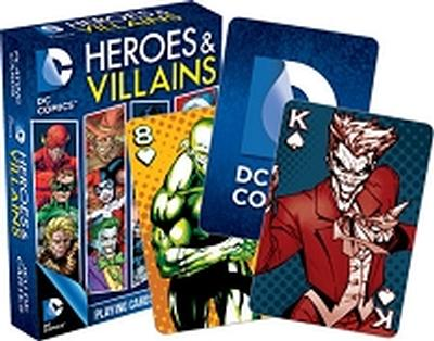 Click to get DC Heroes  Villains Playing Cards