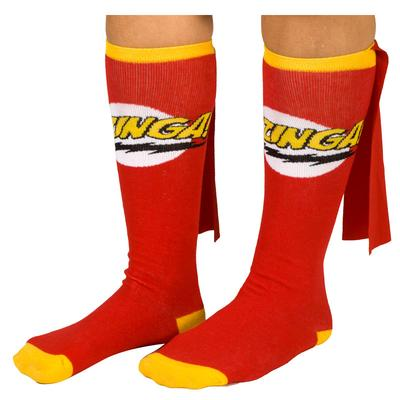 Click to get Big Bang Theory Bazinga Red Cape Socks