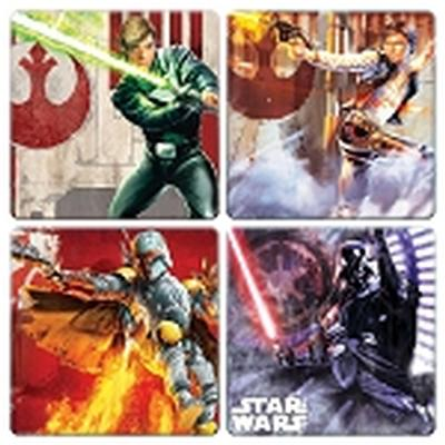Click to get Star Wars 4 pc Wood Coaster Set