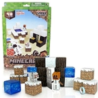 Click to get Minecraft Paper Craft Snow Set