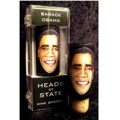 Click to get Obama Wine Stopper