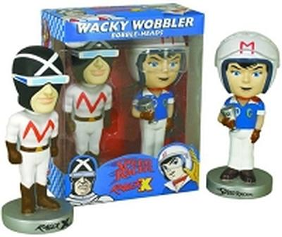 Click to get Speed Racer Bobble Head Set