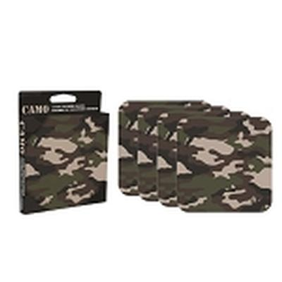Click to get Camo 4 piece Coaster Set