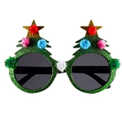 Click to get Tacky Christmas Tree Glasses