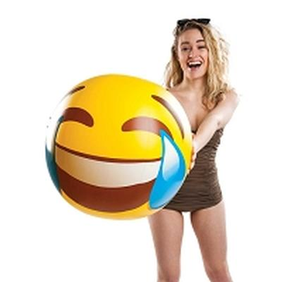 Click to get Giant Tears of Joy Emoji Beach Ball