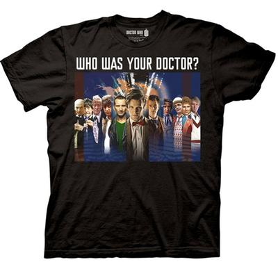 Click to get Doctor Who Who Was Your Doctor  Montage TShirt