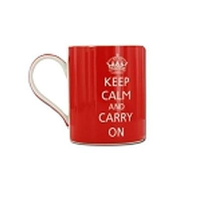 Click to get Keep Calm and Carry On Mug