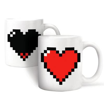 Click to get Liquid Activated Heart Mug