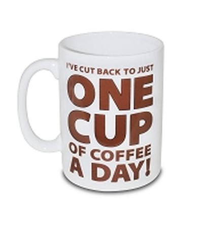 Click to get One Cup of Coffee Mug