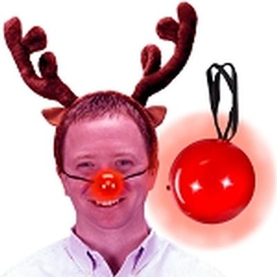 Click to get Flashing Red Reindeer Nose