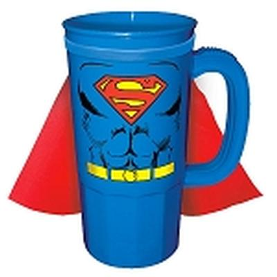 Click to get Superman Caped Plastic Stein