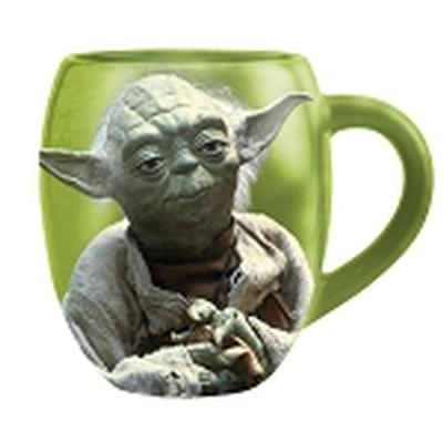 Click to get Star Wars Yoda 18 oz Oval Ceramic Mug