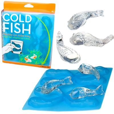 Click to get Cold Fish Ice Cube Tray
