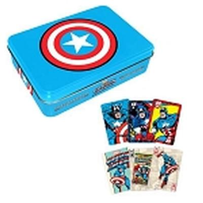 Click to get Captain America Playing Card Tin Set