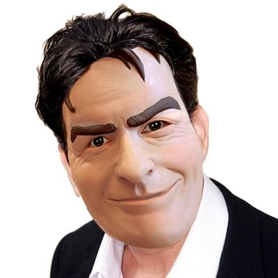 Click to get Charlie Sheen Mask