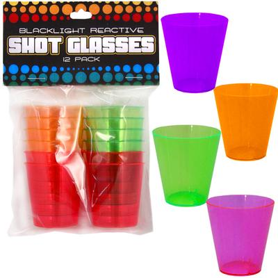 Click to get Blacklight Reactive Shot Glasses