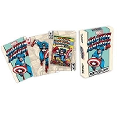 Click to get Marvel  Captain America Covers Playing Cards