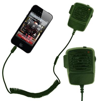 Click to get Walkie Talkie Phone Handset Green