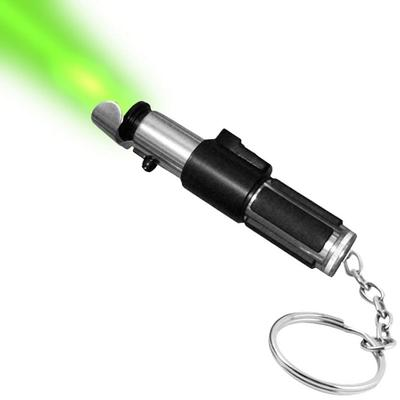 Click to get Star Wars Mini Lightsaber Flashlight Keychain Yoda