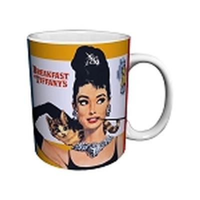 Click to get Breakfast at Tiffanys Mug Poster