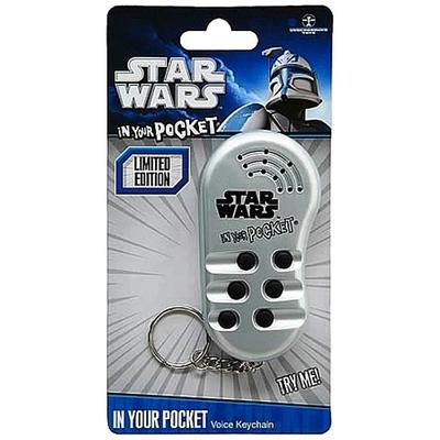 Click to get Star Wars In Your Pocket Talking Keychain