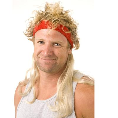 Click to get Instant Mullet w Headband Widow Maker