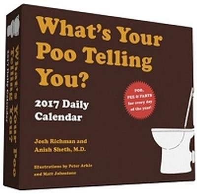 Click to get Whats Your Poo Telling You Daily Calendar 2017
