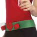 Naughty or Nice Shot Glass Belt