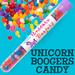Unicorn Boogers Candy