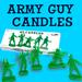 Army Guy Candles
